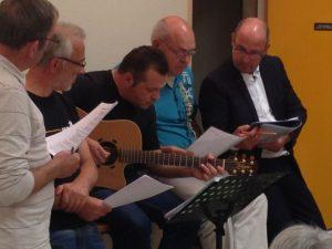 répétition de la chorale de Fayet 02100